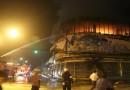 ไฟไหม้อาคารถ่ายหนังฮอลลีวูด กลางเมืองลำปาง