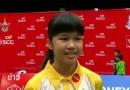 น้องจิว ภัทรสุดา คว้า 2 แชมป์ แบดมินตันเยาวชนประเทศไทย