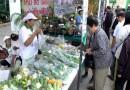 สินค้าเกษตรปลอดภัย สินค้าเกษตรอินทรีย์ แยกเพ็ญทรัพย์ ทุกวันจันทร์และวันศุกร์
