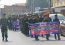 นักศึกษาวิชาทหาร แจกแผ่นพับการสร้างการรับรู้ ร่างรัฐธรรมนูญ