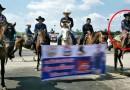 ลุงขี่ม้าไปต้อนรับ พี่ตูน ขากลับม้าตกใจรถพุ่งชนปิกอัพ ลุงตกม้าหัวกระแทกพื้นดับ